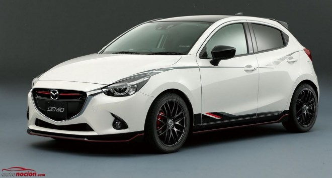 Mazda Demio Racing Concept: La estética del Mazda2 empieza a radicalizarse
