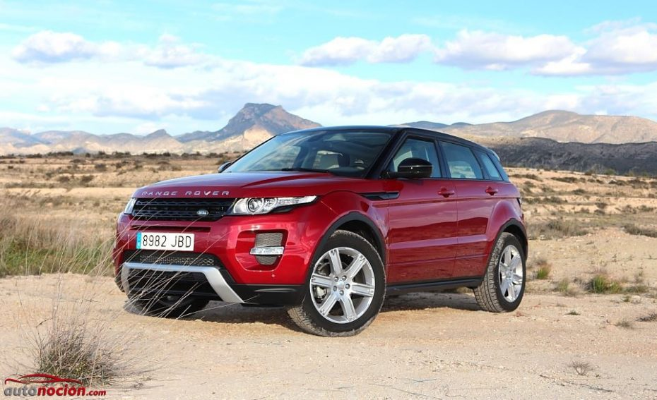 Prueba Range Rover Evoque TD4 2.2 150 cv: Poder hacer lo que quieras, cuando quieras