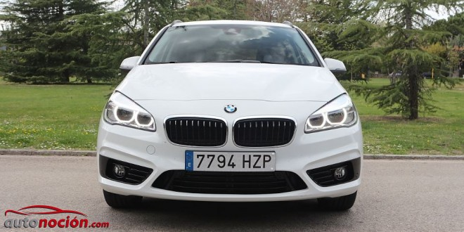 frontal bmw serie 2 active tourer
