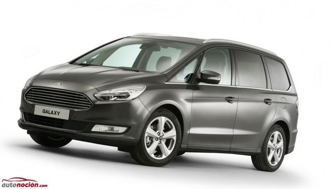 Ford Galaxy 2015: El modelo más familiar de Ford se adapta a los nuevos tiempos
