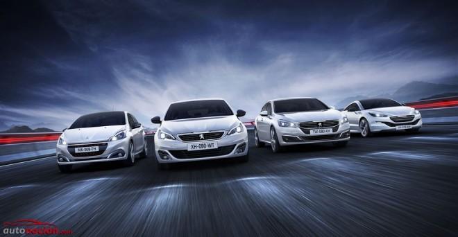 Peugeot nos muestra el aspecto de casi toda su gama tras recibir la estética GT Line