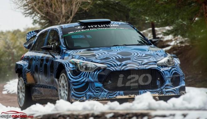 Hyundai Motorsport continúa desarrollando el i20 WRC: La nueva generación debutará en 2016