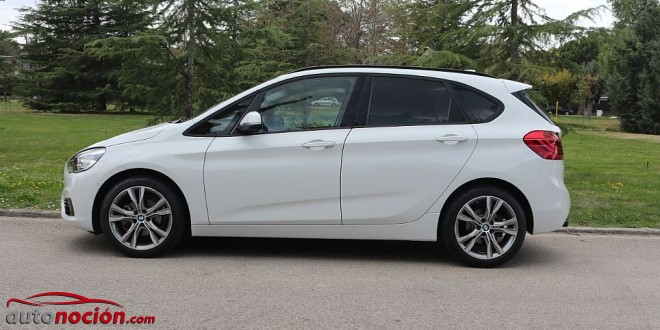 lateral bmw seire 2 active tourer