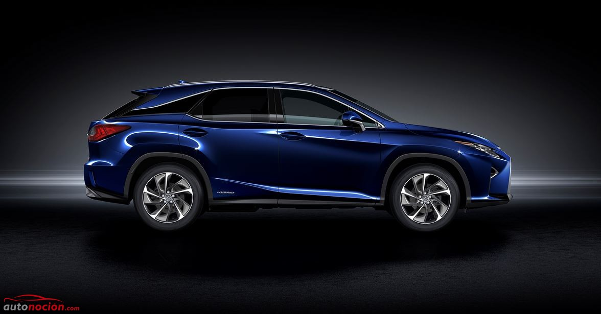 lateral lexus rx