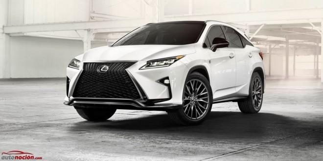 Así es el nuevo Lexus RX: Las siglas más exitosas del fabricante nipón redefinen el lujo en el segmento SUV