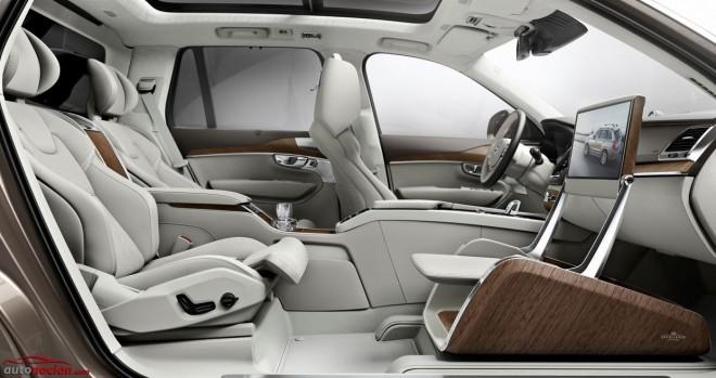 Volvo Lounge Console: Cuando la marca reemplaza el asiento del copiloto por un reposapiernas…