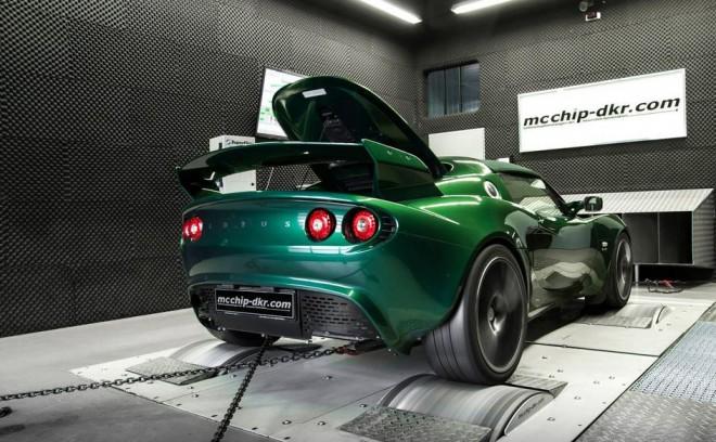 Interesante mezcla: Un Lotus Exige con el motor de un Golf GTI potenciado hasta los 409 cv…