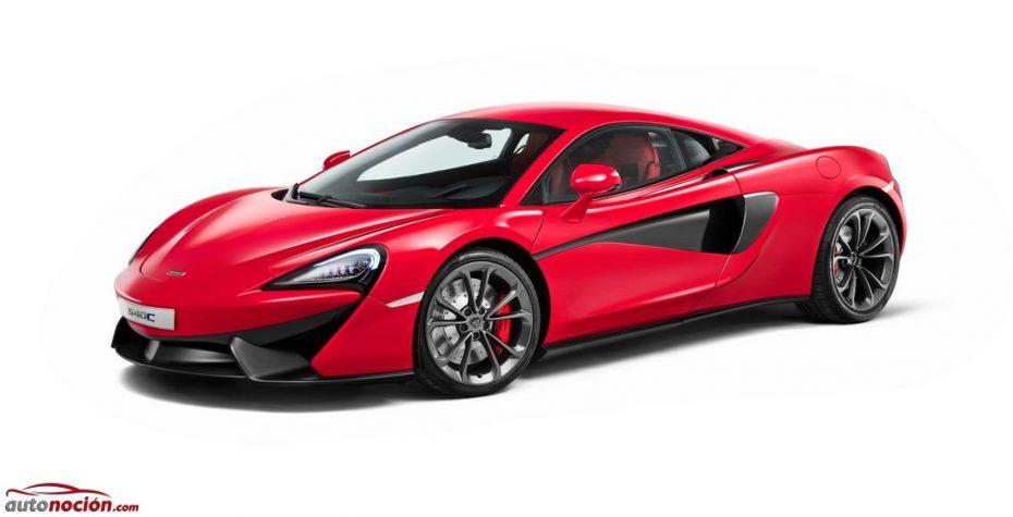 McLaren 540C: El modelo más asequible cuenta con Start Stop y parte de los 175.000 euros