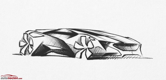 El Mystery Concept Car de Peugeot, ahora en unos exclusivos bocetos