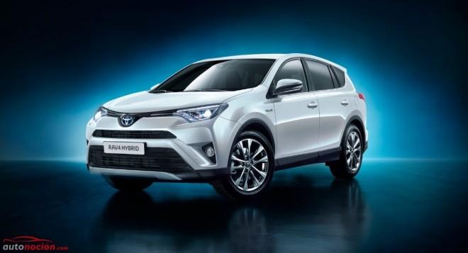 Toyota lanza el RAV4 hybrid AWD y aprovecha para actualizar la estética y el equipamiento del todocamino