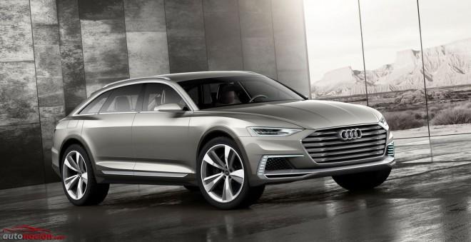 Audi prologue allroad: Futuras tendencias para las las salidas del asfalto