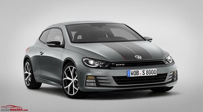 Volkswagen actualiza el aspecto del Scirocco GTS: Un toque distinto para los que apuestan por lo estético