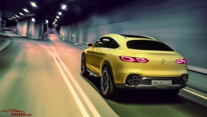 Mercedes-Benz GLC Coupé Concept revelado completamente en Shanghái