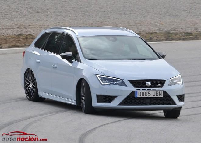 El SEAT León ST Cupra llega a los concesionarios desde 33.870 €