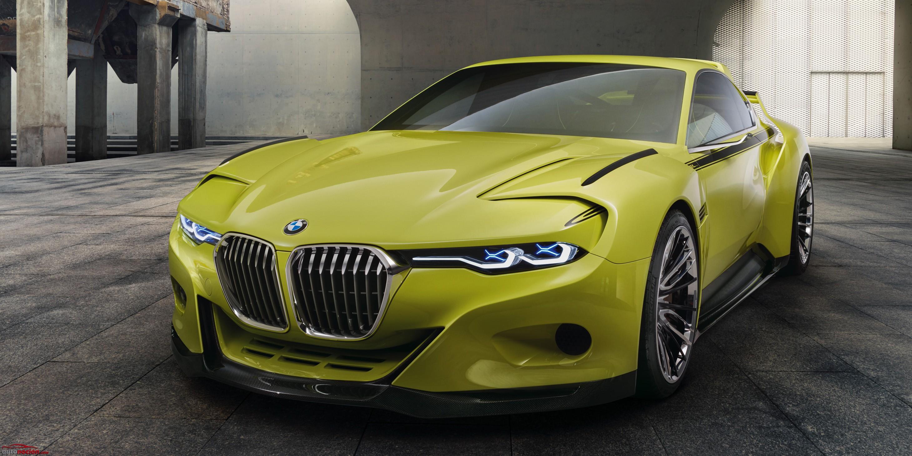 Aquí están las fotos del BMW 3.0 CSL Hommage: Un coupé simplemente precioso