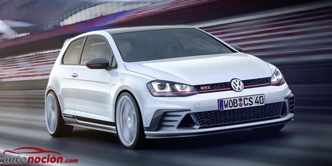 Ya es oficial: Así es el Volkswagen Golf GTI ClubSport Study con hasta 290 CV