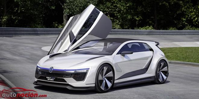 Te presentamos el nuevo Volkswagen Golf GTE Sport Concept: Consumos ridículos y 280 km/h de velocidad máxima