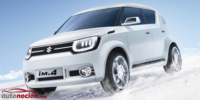 Suzuki da luz verde al IM-4 Concept: Llegará a Europa en 2018 con la intención de eclipsar al Fiat Panda 4×4