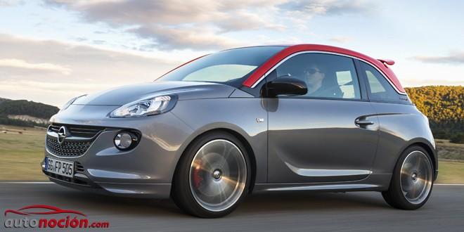 El Opel Adam S ya está a la venta: Un juguete sobrealimentado con 150 CV de potencia y precio interesante