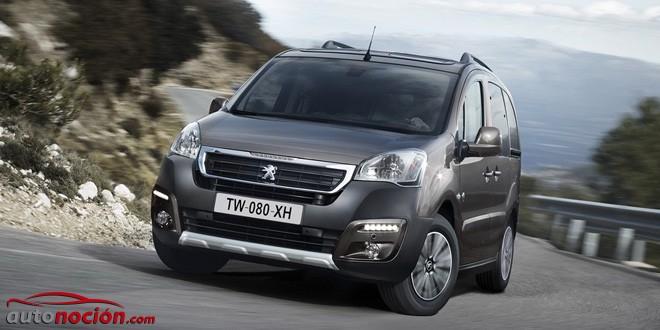 Ya a la venta el Peugeot Partner Tepée 2015: También en versión 4×4 desde 34.191 €