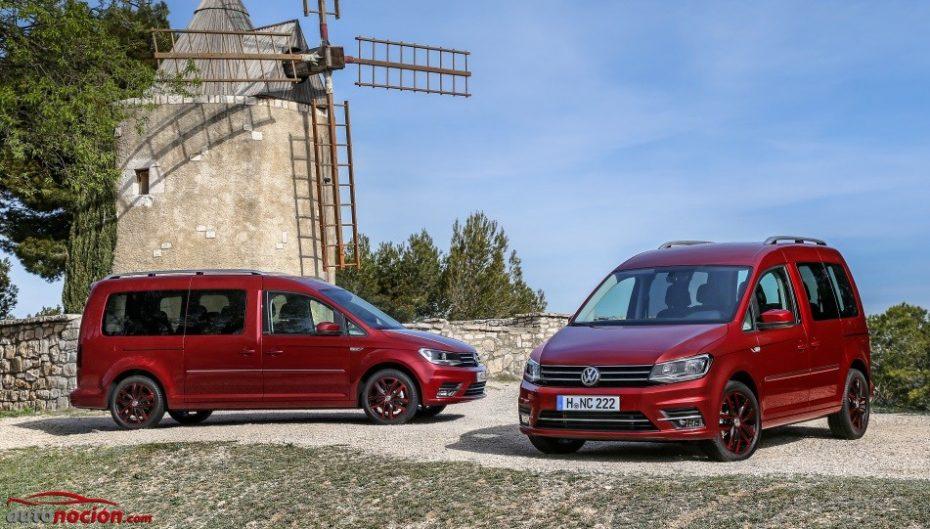 Nuevas imágenes del muy renovado Volkswagen Caddy: Aspecto más pintón y mucho equipamiento