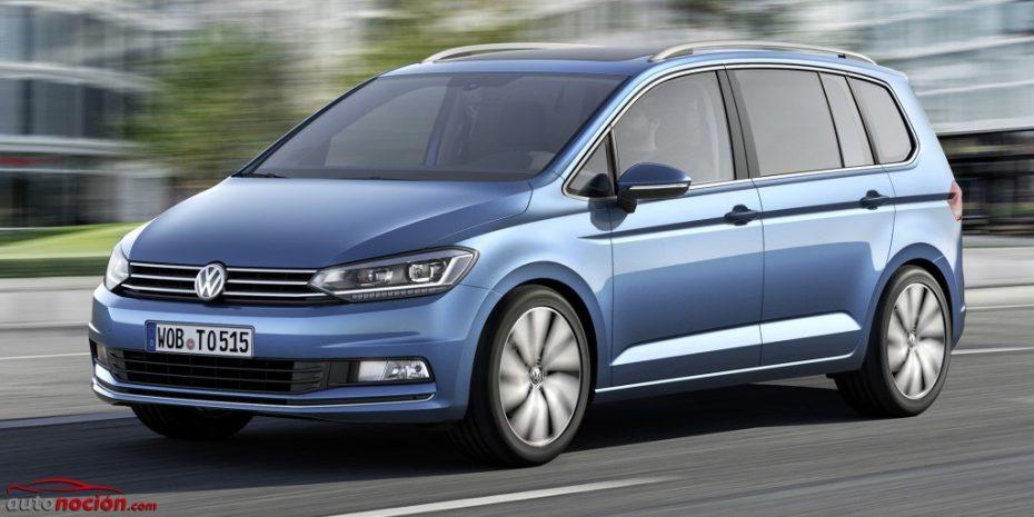 Si te gusta el nuevo Volkswagen Touran, prepara el bolsillo: Disponible desde 26.280 € con el motor 1.2 TSI de 110 CV