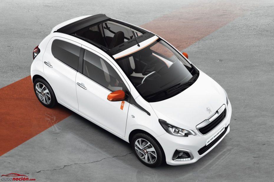 El Peugeot 108 recibe la serie especial Roland Garros