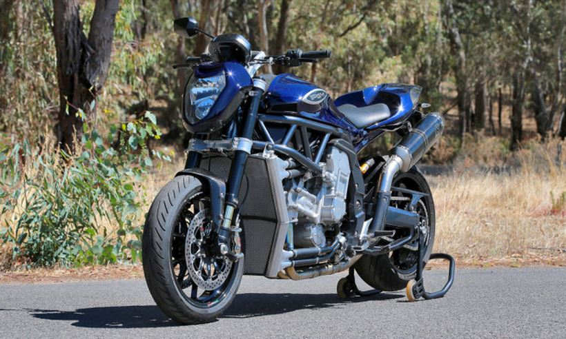 PGM 2.0Litre V8 Motorcycle: Una moto salvaje a la australiana con 338 CV