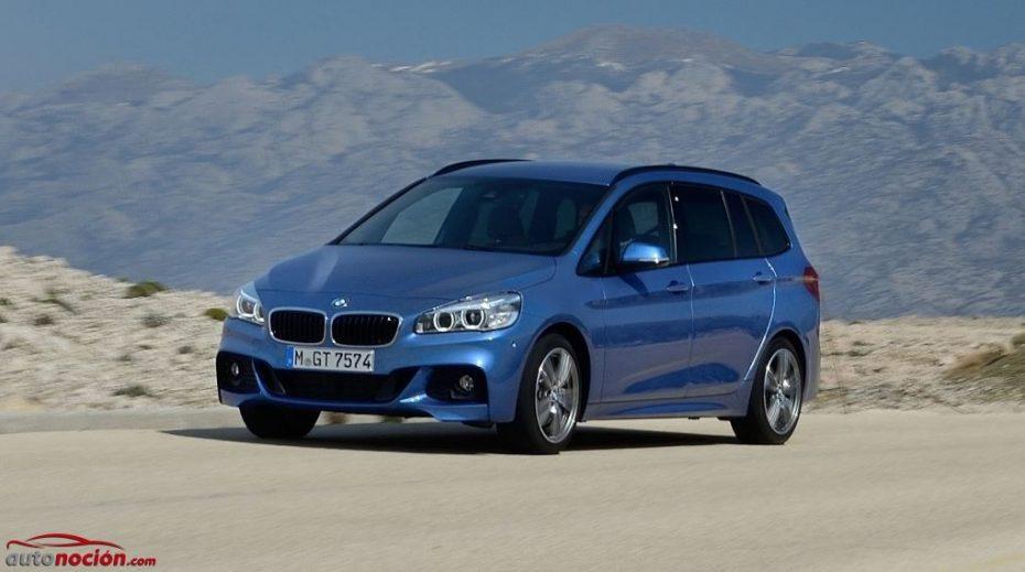 BMW actualiza su gama: BMW 214d Gran Tourer con 95 cv entre las sorpresas…