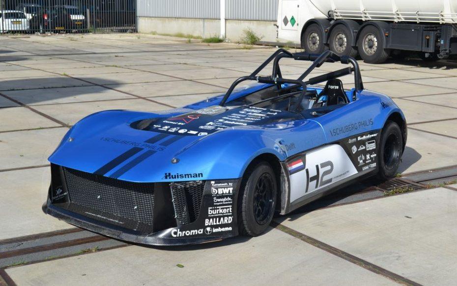 Nuevo récord de vuelta en Nürburgring: Se llama Forze 6 y es el más rápido de los vehículos con pila de combustible