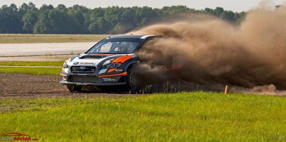 Finalizan las pruebas para el Subaru WRX STI RALLYCROSS: Directos al primer encuentro