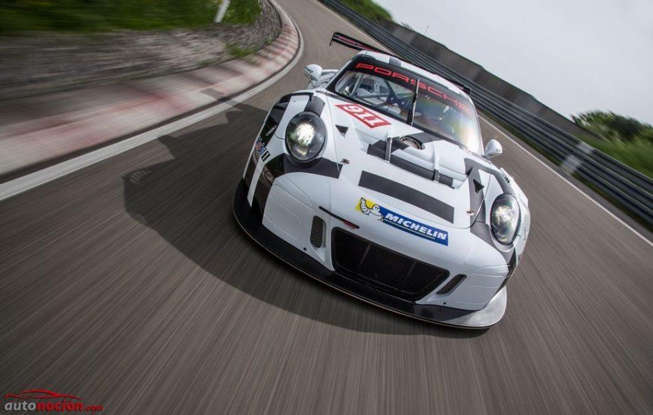 Así es el nuevo Porsche 911 GT3 R: Más ligero, más económico y mucho más rápido