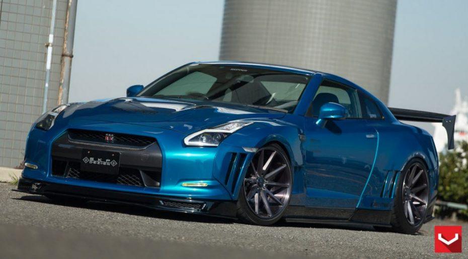 ¿Acaso hay algo que le siente mal al Nissan GT-R?, ojo a esta espectacular combinación…