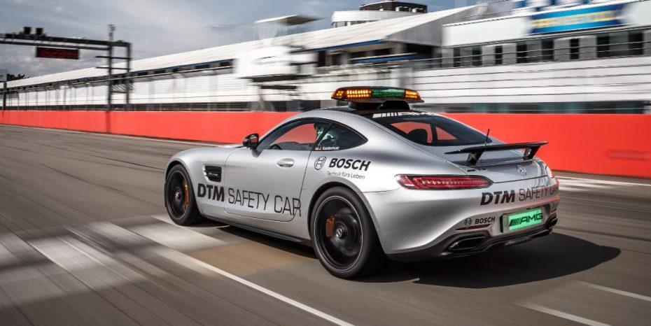 Mercedes-AMG GT S: El nuevo Safety Car del DTM también trabaja en la Fórmula 1