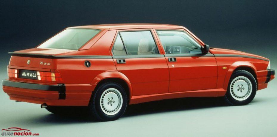 30 años del 75: El último Alfa Romeo «de verdad»