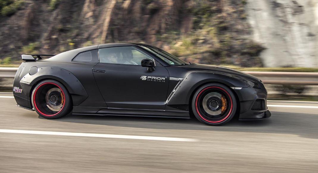 Prior Design nos muestra su duro trabajo en el Nissan GT-R: ¿Se puede mejorar?