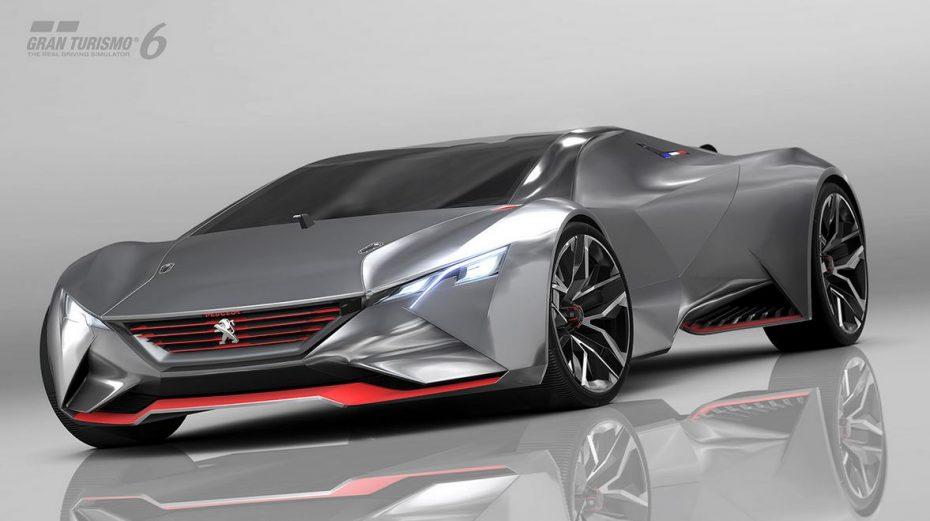 Peugeot Vision Gran Turismo: Una combinación de píxeles magistral