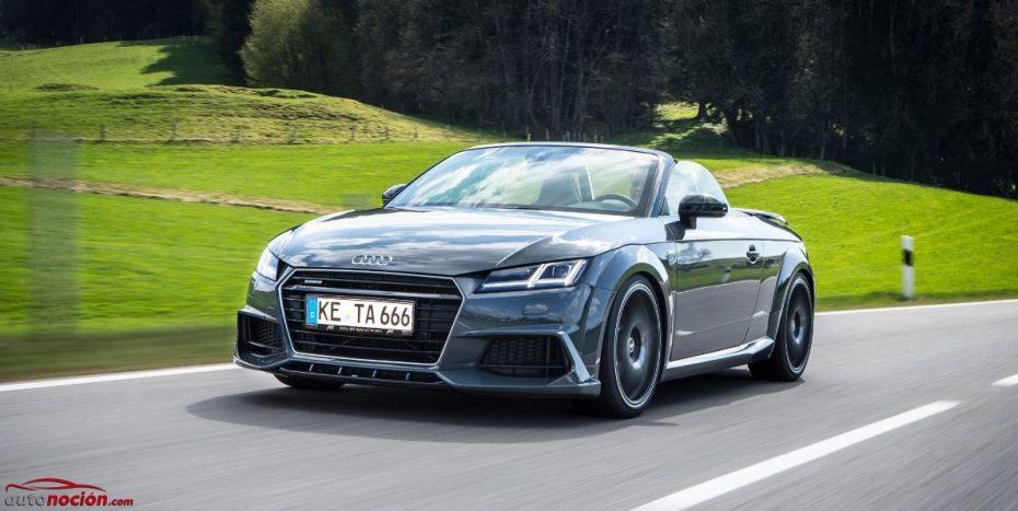 ABT le saca el jugo al Audi TT Roadster: 310 cv para el roadster de los cuatro aros