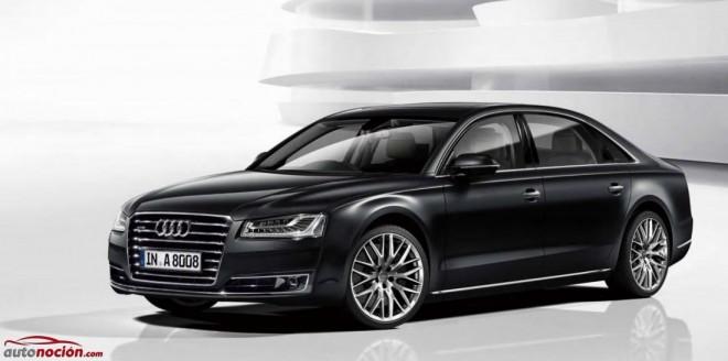 Audi A8 L 'Chauffeur special edition': Una berlina para dejarse llevar y limitada a 5 unidades