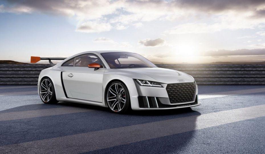 Audi TT clubsport turbo technology concept car: Cuando el turbo eléctrico eleva la potencia del 2.5 TFSI hasta los 600 cv