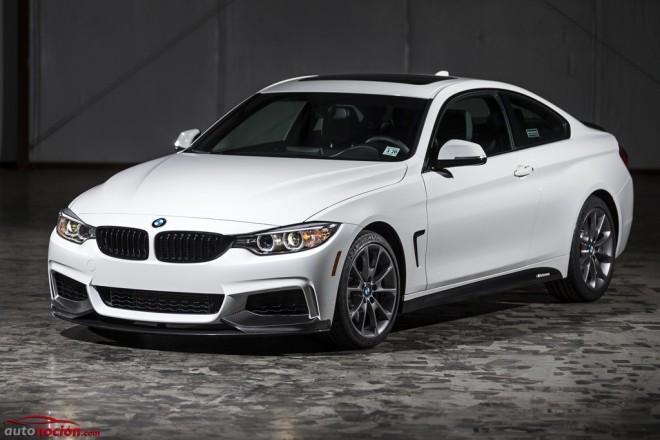 BMW 435i Coupé ZHP Edition: Cuatro componentes clave M Performance para exprimir todo su potencial