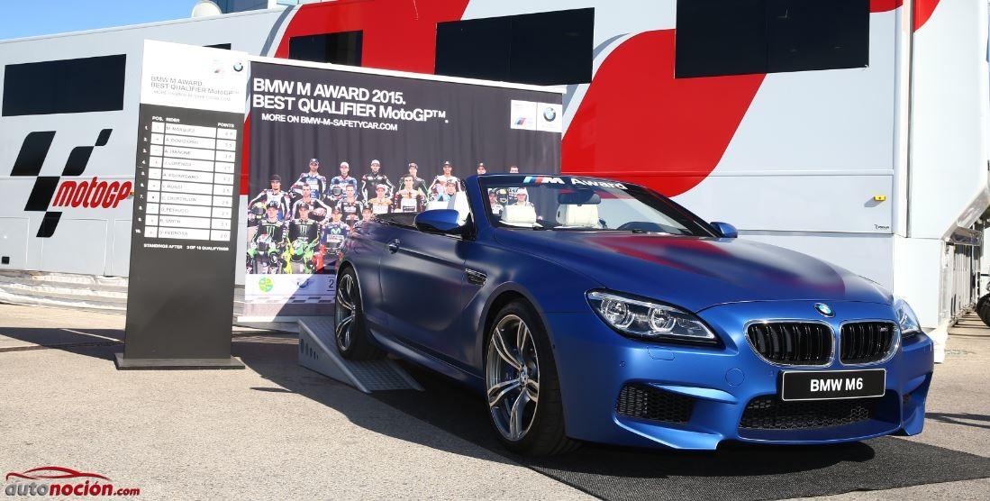 Este es el modelo que se llevará en 2015 el ganador del BMW M Award de MotoGP