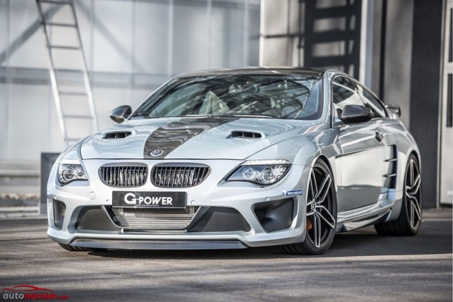 1.001 CV y un aspecto radical para el último BMW M6 de G-Power