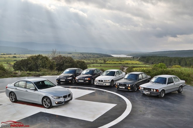 Una extensa galería de imágenes para celebrar las 40 primaveras del BMW Serie 3