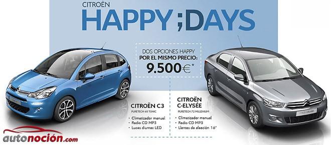Citroën España tira la casa por la ventana: C3 y C-Elysée desde 9.500 €