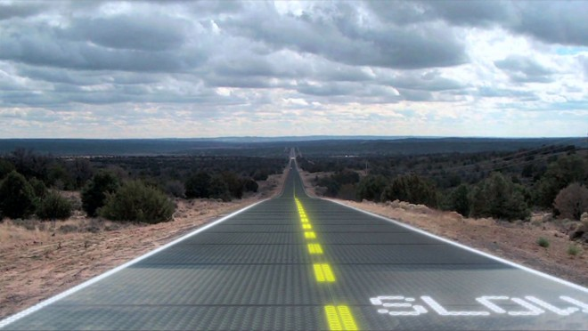 Proyecto Forever Open Road: Carreteras que se limpian, iluminan y reparan solas…