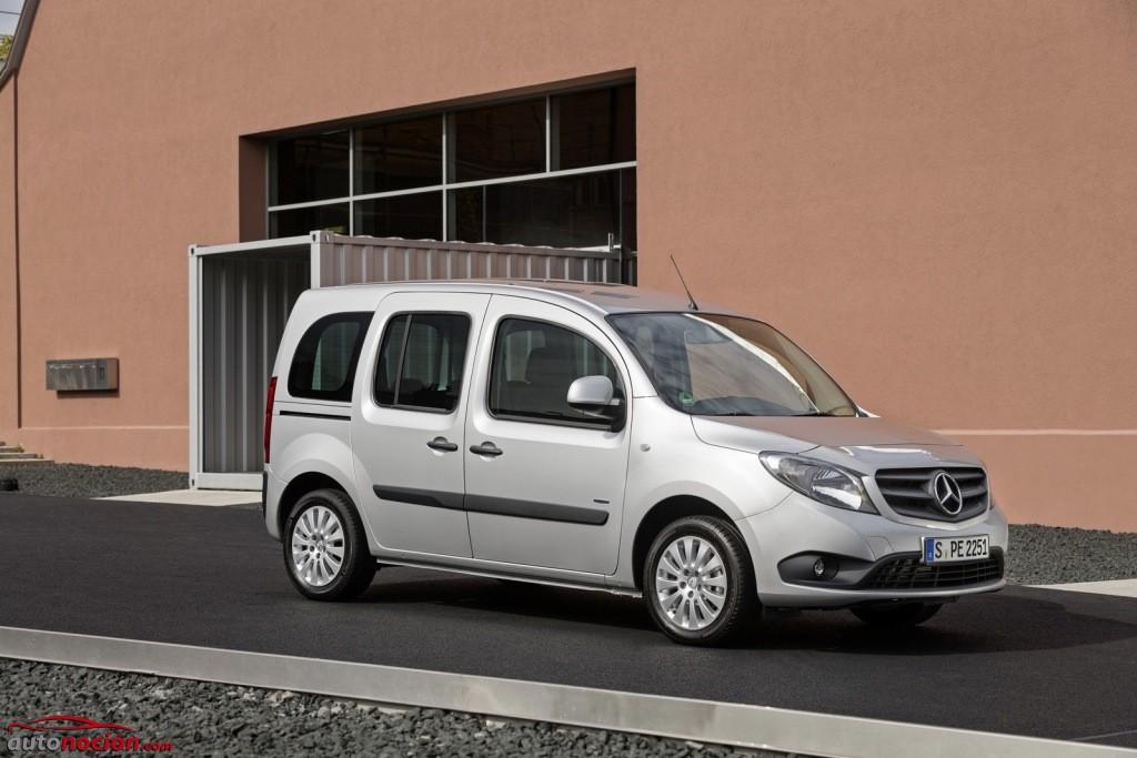 Mercedes-Benz Citan verschiedene Herstelleraufbauten