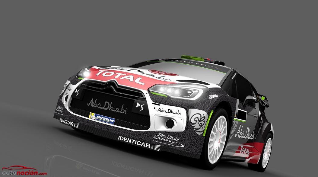 El DS 3 WRC estrenará nuevos colores y mejoras aerodinámicas en el Rally de Portugal