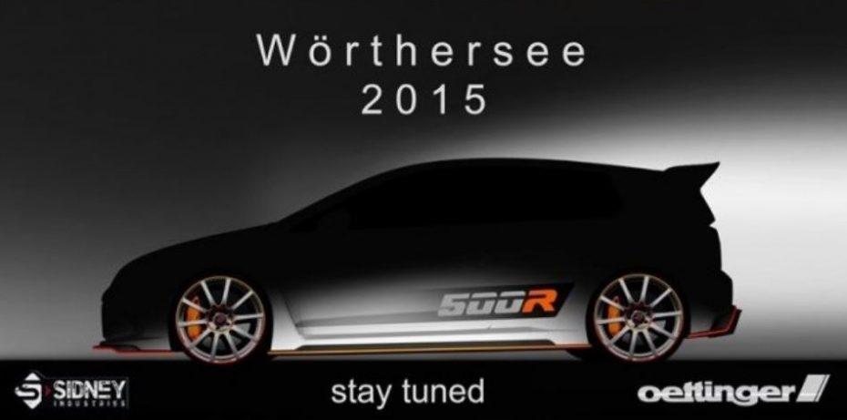 500R, la última bestia de Oettinger se basaría en el Golf R y contaría con 500 cv