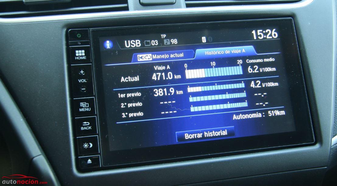 Honda Civic Consumos